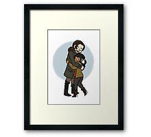 Sleepy Hollow Valentine Framed Print