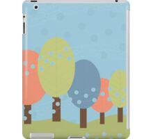 Retro Trees iPad Case/Skin