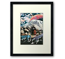 Its dangerous to go alone ... Framed Print