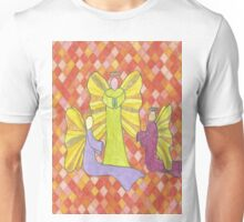 Group of Angels Hanging Out Unisex T-Shirt