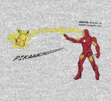 Ironman vs. Pikachu Kids Clothes