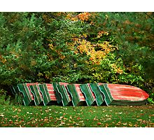 Watermelon Boats Photographic Print