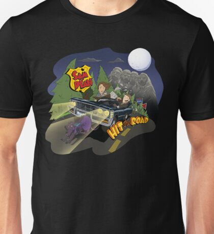Sam and Dean hit the road Unisex T-Shirt