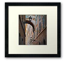 Streets Framed Print