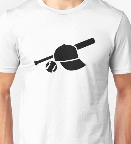Baseball cap hat bat Unisex T-Shirt