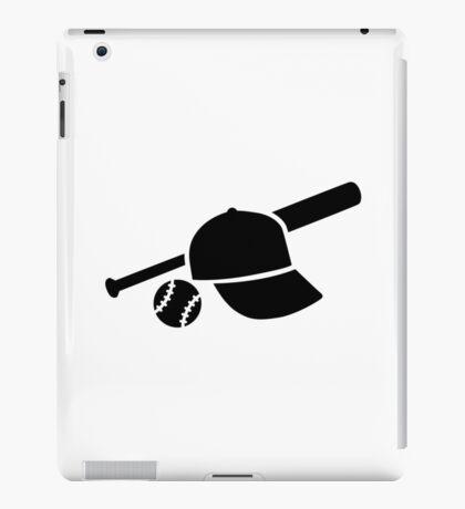 Baseball cap hat bat iPad Case/Skin