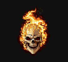 Fire Skull Ghost Rider Unisex T-Shirt