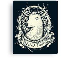 Wild Thing Canvas Print