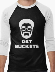 Uncle Drew get buckets Men's Baseball ¾ T-Shirt