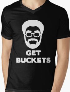 Uncle Drew get buckets Mens V-Neck T-Shirt