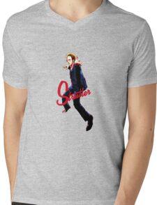 Mike Strutter Mens V-Neck T-Shirt