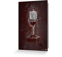 DARK ON THE AIR Greeting Card