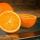 Still Life - Oranges by homendn