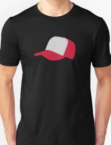 Red baseball cap hat T-Shirt