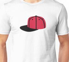 Red black Baseball Cap Hat Unisex T-Shirt