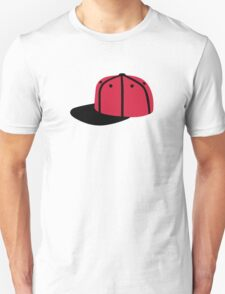 Red black Baseball Cap Hat T-Shirt