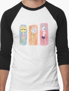 Kitty Fashion Men's Baseball ¾ T-Shirt