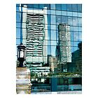 Reflecting the Boston Federal Building - iPhone case by Jack McCabe