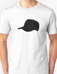 Black Baseball Cap Hat T-Shirt