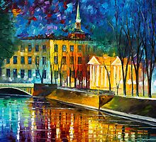 WINTER VIBRATIONS by Leonid  Afremov