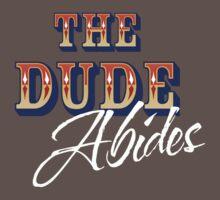The Big Lebowski - The Dude Abides Baby Tee