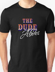 The Big Lebowski - The Dude Abides Unisex T-Shirt
