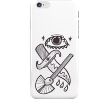 The knife and shovel iPhone Case/Skin