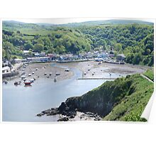 Low Tide, Lower Fishguard Poster