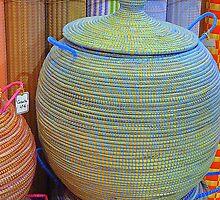 Linen Baskets And Mats by Fara