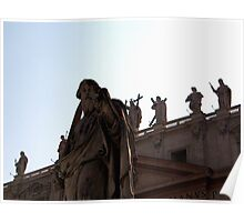 St Peters Basilica, Rome Poster