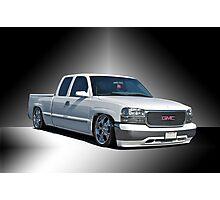 2012 GMC 'Jimmy' Custom Pick-Up Photographic Print