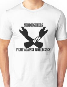Fight World Suck Unisex T-Shirt