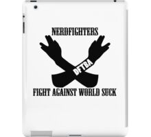 Fight World Suck iPad Case/Skin