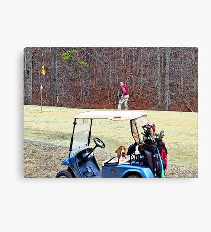 Feburary Golf In Alabama Canvas Print