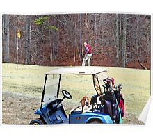 Feburary Golf In Alabama Poster