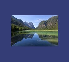 Lake Dobbiaco, South Tyrol, Italy Unisex T-Shirt