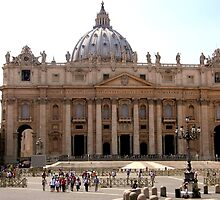 St Peters Basilica, Rome by rgmf