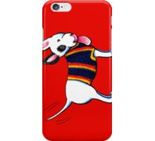 Bull Terrier in Blue iPhone Case/Skin