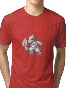 Twitch Plays Pokemon Tri-blend T-Shirt