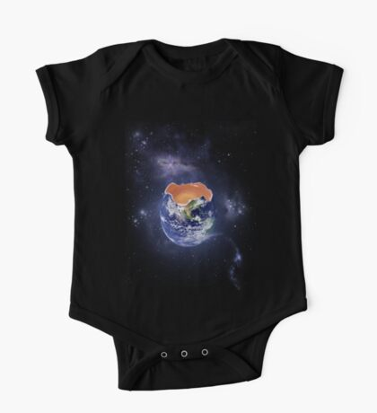 Funny Earth Egg One Piece - Short Sleeve