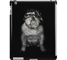 Private Bulldog  iPad Case/Skin