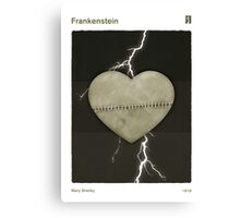 "Mary Shelley ""Frankenstein"" Canvas Print"