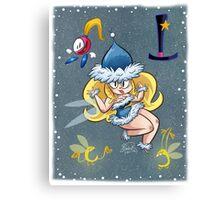 Helena Handbasket Canvas Print