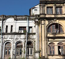 yangon architecture by Anne Scantlebury