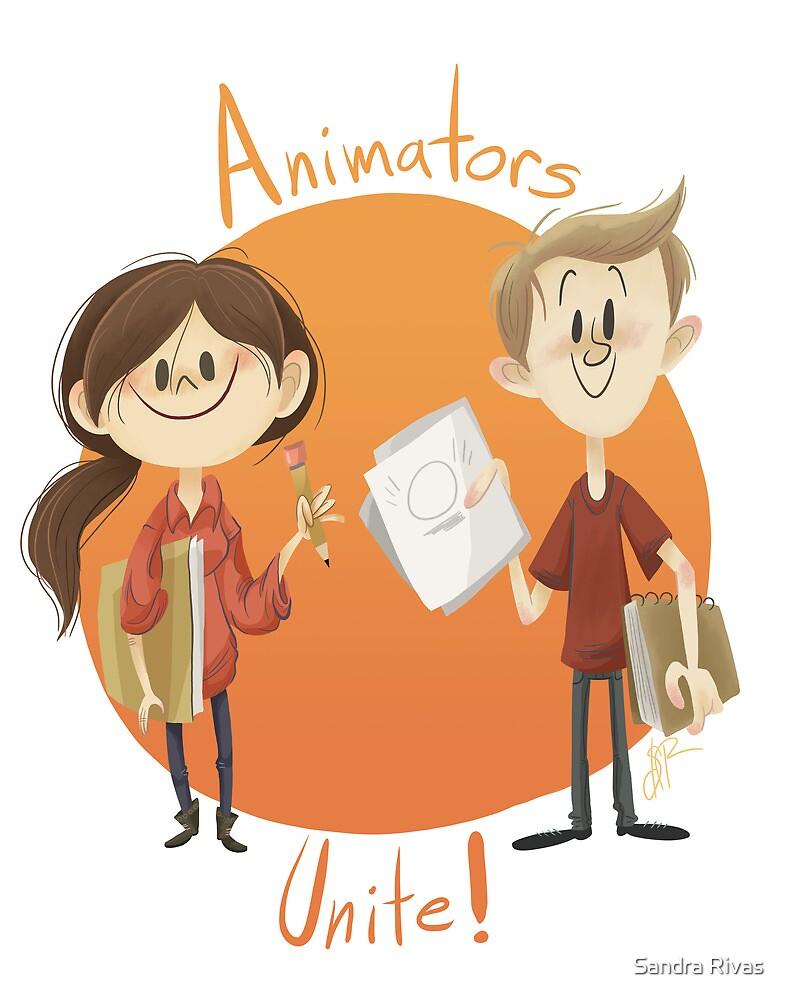 Animators Unite by Sandra Rivas