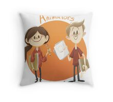 Animators Unite Throw Pillow
