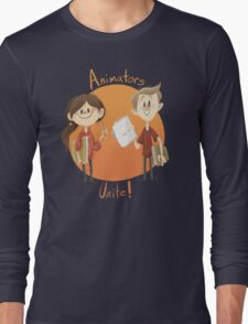 Animators Unite Long Sleeve T-Shirt