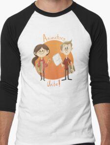 Animators Unite Men's Baseball ¾ T-Shirt