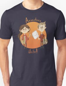 Animators Unite Unisex T-Shirt
