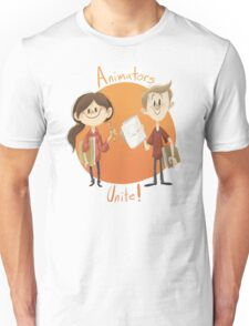 Animators Unite Unisex T-Shirt